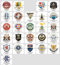 Badge Pin: European football clubs Scotland Scottish Motherwell Dundee Hamilton