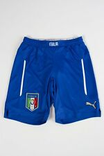 OFFER Shorts Football PUMA Italy National Competition Away 2013/15 Blue
