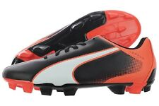 Puma Adreno FG 10341809 Black Lava Firm Ground Soccer Shoes Cleats Medium M