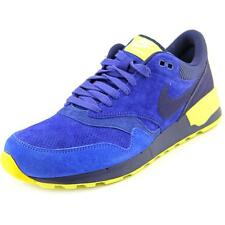 Nike Air Odyssey LTR Men  Round Toe Suede Blue Sneakers
