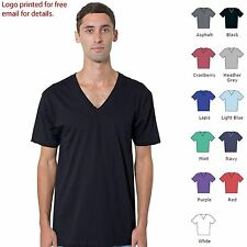 American Apparel Fine jersey short sleeve v-neck