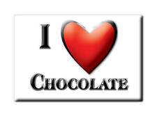 MEXICO SOUVENIR FRIDGE MAGNET RECUERDO IMAN DE NEVERA I LOVE CHOCOLATE