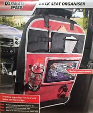 Back Seat Organiser Storage Compartments,Tablet Compartment, Backrest Protector