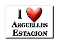MEXICO SOUVENIR FRIDGE MAGNET IMAN DE NEVERA I LOVE ARGUELLES ESTACION