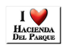 MEXICO SOUVENIR FRIDGE MAGNET IMAN DE NEVERA I LOVE HACIENDA DEL PARQUE