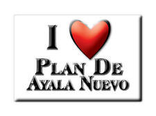 MEXICO SOUVENIR FRIDGE MAGNET IMAN DE NEVERA I LOVE PLAN DE AYALA NUEVO