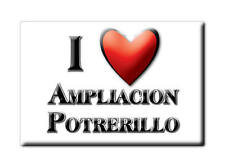 MEXICO SOUVENIR FRIDGE MAGNET IMAN DE NEVERA I LOVE AMPLIACION POTRERILLO