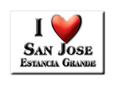 MEXICO SOUVENIR FRIDGE MAGNET IMAN DE NEVERA I LOVE SAN JOSE ESTANCIA GRANDE