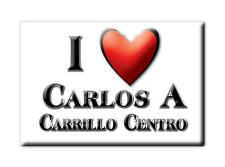MEXICO SOUVENIR FRIDGE MAGNET IMAN DE NEVERA I LOVE CARLOS A CARRILLO CENTRO