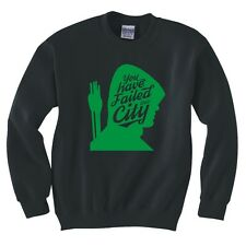 """GREEN ARROW """"YOU HAVE FAILED THIS CITY"""" SWEATSHIRT NEW"""
