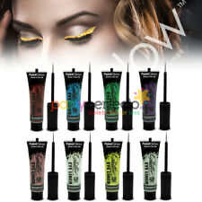 Paint Glow Glitter Eye Liner - Choose From 8 Colours - Make Up Party Face Body
