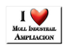 MEXICO SOUVENIR FRIDGE MAGNET IMAN DE NEVERA I LOVE MOLL INDUSTRAIL AMPLIACION