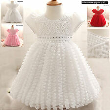 Vestito Bambina Abito Cerimonia Battesimo Girl Party Princess Dress CDR048