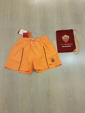 AS ROMA AMISTAD OFFICIAL COSTUME BEACH SHORT UOMO- MAN MARE PISCINA COD.044
