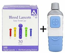 Bayer Microlet 2 Lancing Device + 100 Active1st 30g Lancets