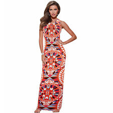 Modo Vivendi | Womens Summer Maxi Dress Bodycon Party Dresses | Printed Vestidos