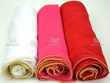 Gold Mini Beads Maxi *Chiffon* Plain Scarf Hijab Shawl Sarong Large Silk Shimmer