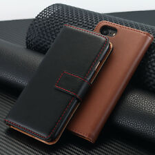 Luxury Leather Wallet Card Flip Stand Phone Case Cover for iPhone 5S 6