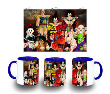 tazza BLU SAIYAN DRAGON BALL SAGA MUG tazza tazze E'