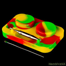 Non Stick Silicone Containers and Prep Station Heat Resistant Silicone Tubs