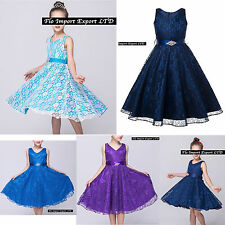 Vestito Bambina Abito Cerimonia Elegante Girl Party Princess Dress CDR057 ABV