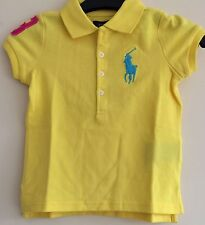 BNWT POLO RALPH LAUREN GIRLS SHORT SLEEVE BIG POLO PONY POLO SHIRT/TOP