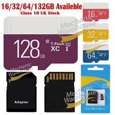 32/64/128GB Ultra Micro SD SDHC Ultra TF Memory SD Card w/ADAPTER Class 10 UK