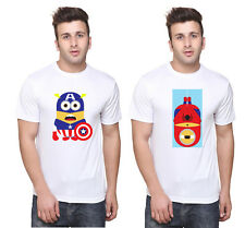 MINION COMBO T SHIRT FOR MEN & WOMEN combom09 (OSIYANKART)