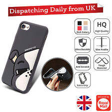 Cute 3D Cartoon Animal Face Silicone Soft Gel Back Slim Case Cover For iPhone 7