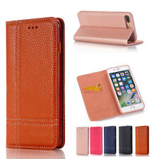 Magnetic Wallet Card Flip Leather Stand Case Cover For Apple iPhone 7