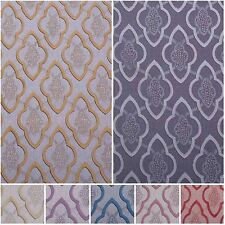 Grimani Georgian Tile Jacquard Tapestry Chenille Curtain Upholstery Fabric
