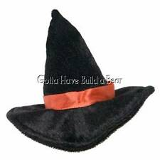 Build-a-Bear Mini Plush Black Witches Hat Teddy Accessory NWT