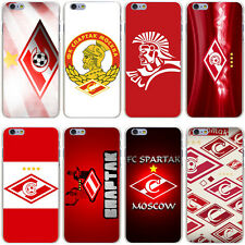 Coque Moscow Spartak FC Soccer Hard Case Galaxy S A J G Note Huawei All Iphone
