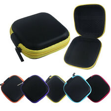 Beautifu Colorful Earphone Case Cover Pouch Carry Bag Memory card, Pendrive case