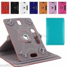 """10 """" Inch Universal 360 Degree Book Flip Case Cover for Tablet Phablet Tab Phone"""