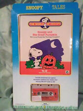 Worlds of Wonder vintage new set tape book for talking Snoopy The Great Pumpkin