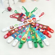 SPIRIUS Dummy Clips,Holder/Soother/Pacifier/chain boys girls baby infant strap