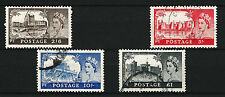 1955 SG536-539 2s6d-£1 Waterlow High Value Set (4) Good/Fine Used Cat £50 aeum
