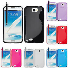 Funda TPU silicona GEL Flexible Onda S Samsung Galaxy Note 2 N7100