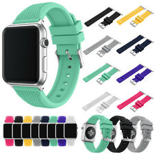 2017 New Sport Replacement Silicone Band Bracelet Strap For Apple iWatch 38/42mm