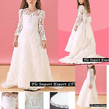 Vestito Damigella Comunione Abito Bambina Girl Party Bridesmaid Dress COM007