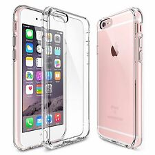 Clear Hybrid Rubber Shockproof Crystal Hard Case Cover for Apple iPhon