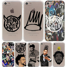Coque J Cole Born Singer Hard Case Samsung galaxy S A J G Note Huawei All Iphone
