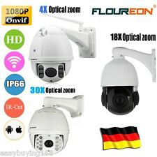 4X/18X/30X ZOOM 1080P CCTV Security PTZ Doom IP Kamera 2.0MP Network Infrared