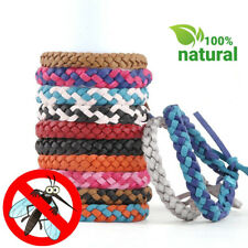 Mosquito Repellent Leather Bracelet Stylish Bug Repellent Bracelet Insect Free
