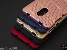 Net Mesh Hard Back Shell Case Cover For Xiaomi Redmi Note 4 (Indian Version)