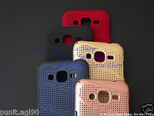 Net Mesh Hard Back Shell Case Cover For Samsung Galaxy J7(2015)