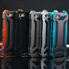 Slim Shockproof Aluminum Glass Metal Case Cover for iPhone 5s 6s 7 Plu