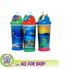 NUBY Insulated No-Spill Flip-it magic Motion 330 ml NEW