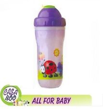 NUBY Insulated No-Spill Flip-it Double wall 270 ml NEW